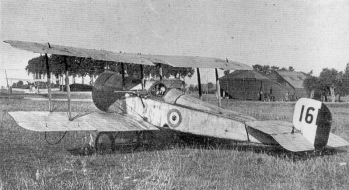 Lanoe Hawker's Bristol Scout C
