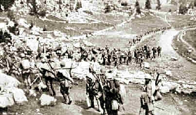 On the Move in the Isonzo Sector