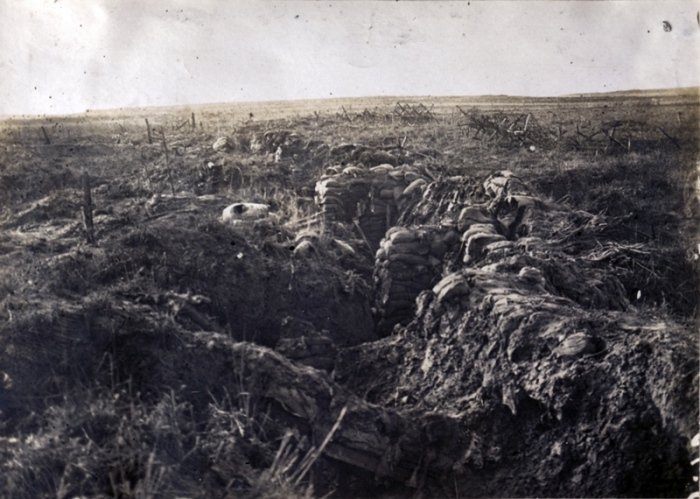 trenches near Souchez
