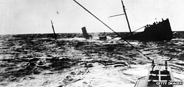 British merchant ship sunk by German U boat