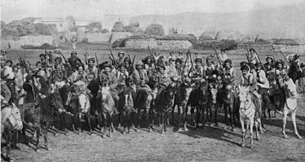 Kurdish cavalry in the Caucasus
