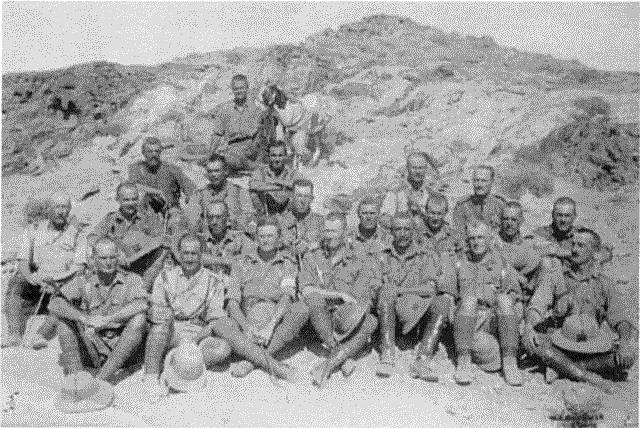 Officers of the Pretoria Regiment