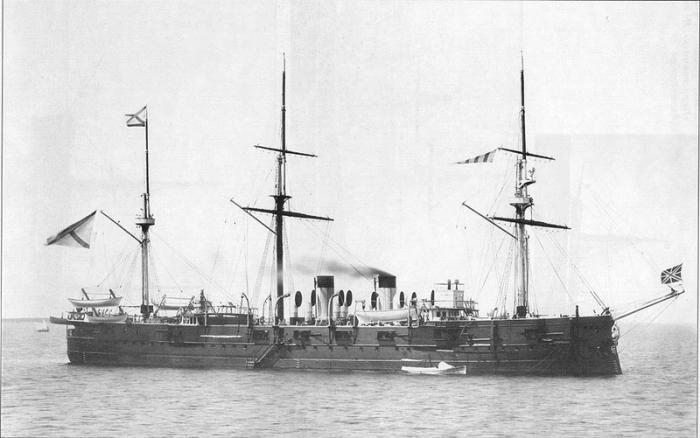 Russian cruiser Minin