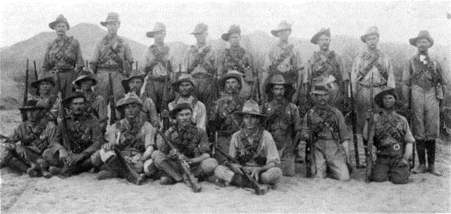 Sutherland Commando in German South West Africa