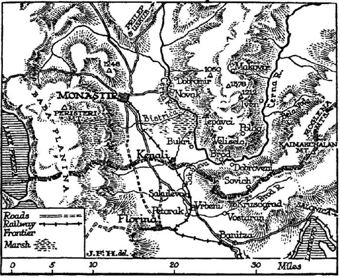 Monastir map