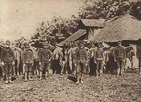 Romanian infantry Sereth