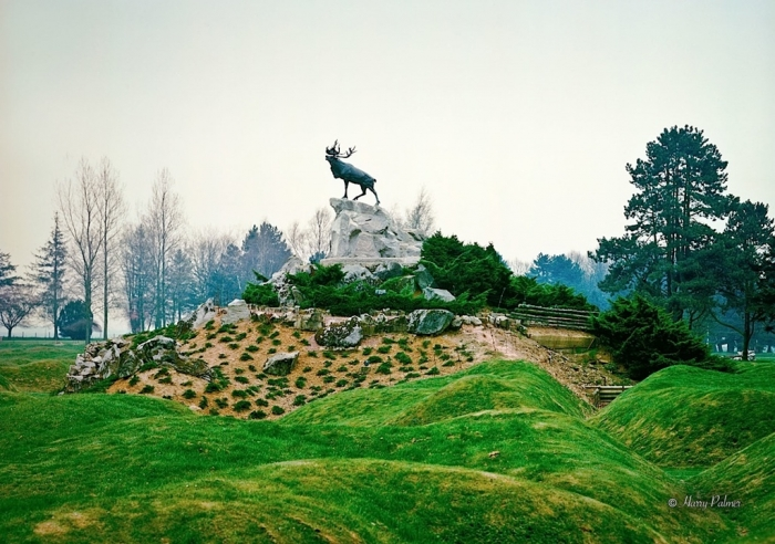 Caribou Memorial, Beaumont-Hamel, 1989
