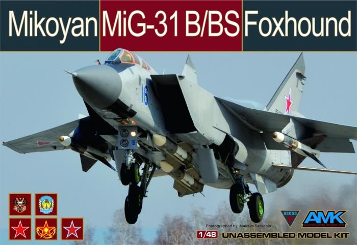 88A003-28-Mikoyan MiG-31B-Printed Box-160121 B