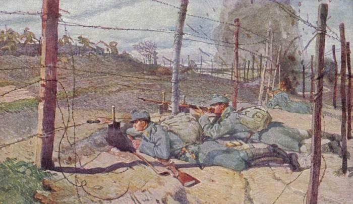 Asiago Plateau 1916