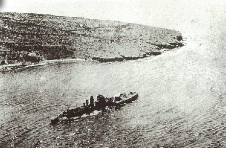 M30 aground