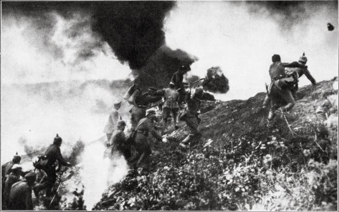 Mort Homme german attack