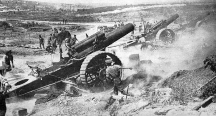 Somme artillery