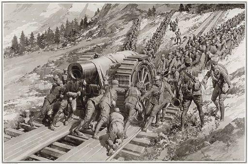 Trentino artillery