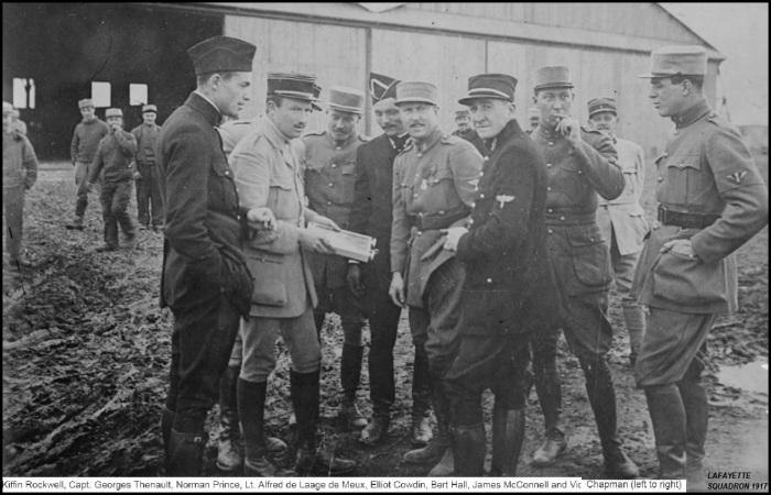 LAFAYETTE US SQUADRON MARCH1916 WW1