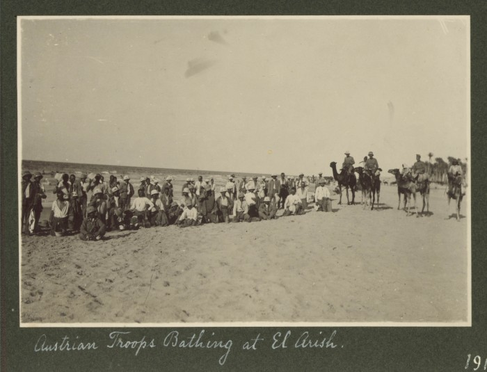 sinai peninsula 1916