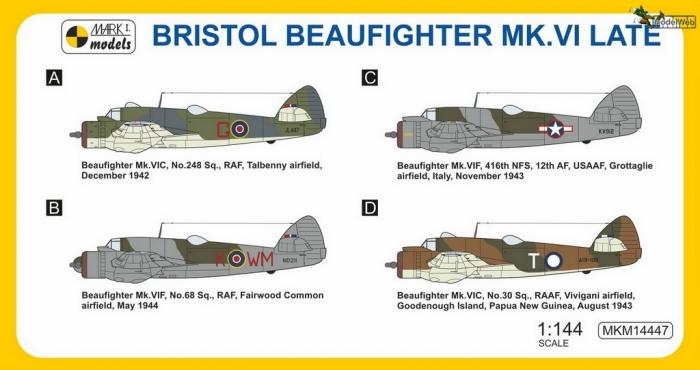 MKM14447 Beaufighter Mk.VI Late Dihedral_camo