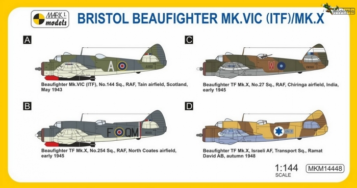 MKM14448 Beaufighter Torpedo Fighter_camo