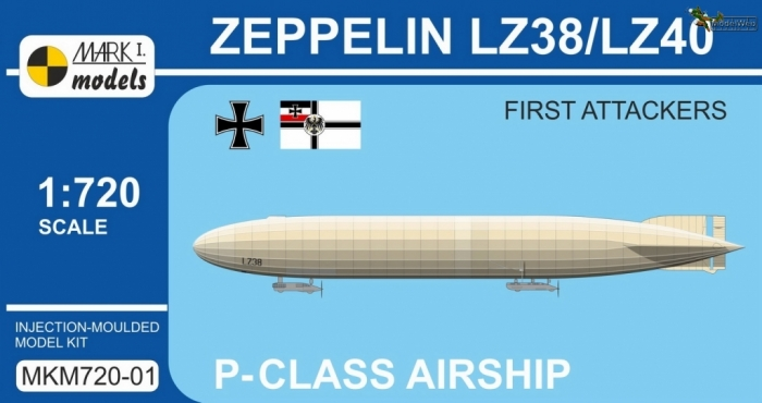 MKM720-01 Zeppelin LZ38--LZ40 First Attackers_box