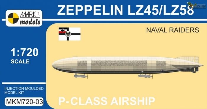 MKM720-03 Zeppelin LZ45--LZ58 Naval Raiders_box