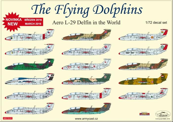 L-29 Delfin - přehled full