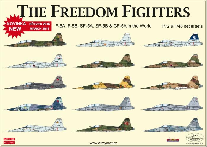 F-5AB - přehled full