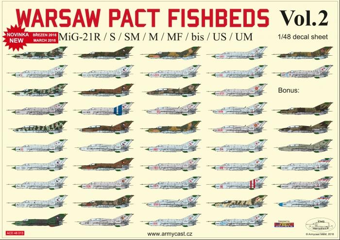 MiG-21 Varšavská smlouva 2 - přehled full