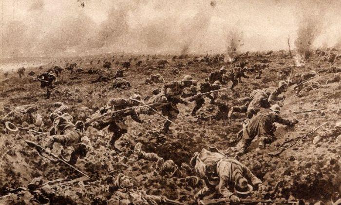011a Damloup 1916 attack