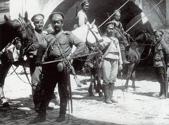 14.8aa Cossacks in Galicia 1916