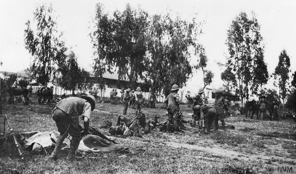 15.8e british troops in East Africa