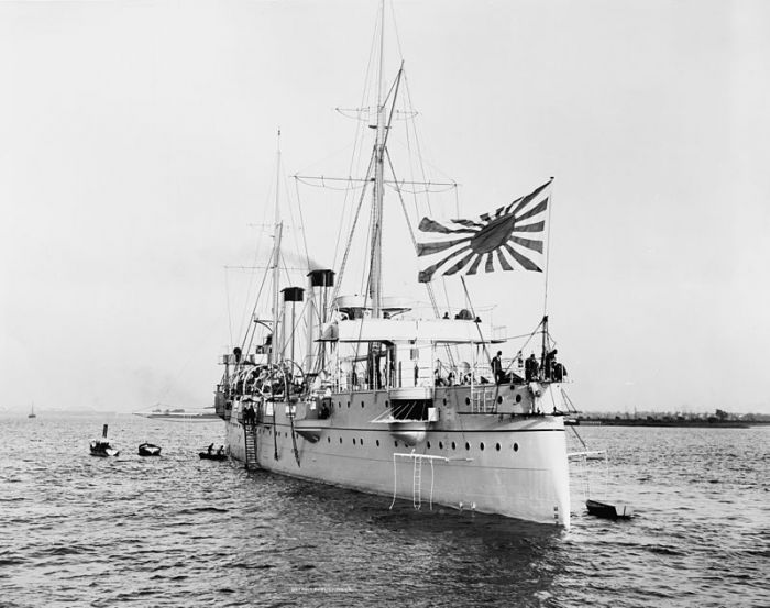 20c Kasagi_1898_in_UK