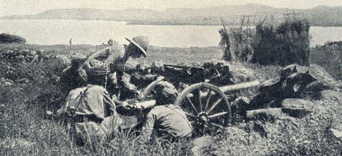 22.8c british troops in East Africa