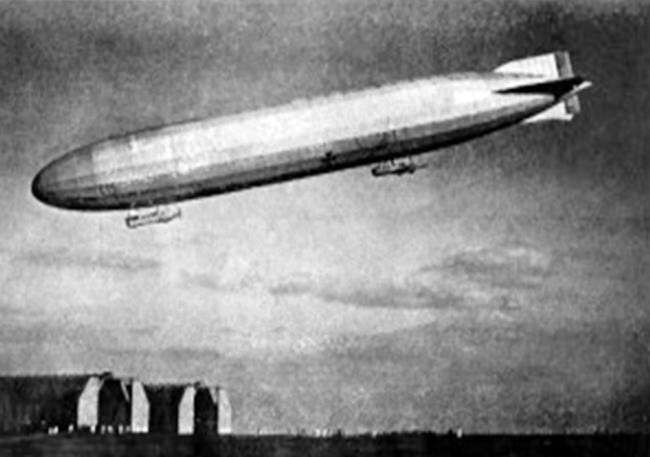 28b Death from the skies Zeppelin