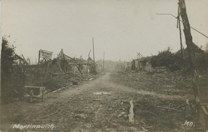30.8bb Martinpuich in the Great War