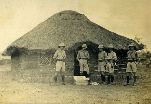 30.8dd no-2-company-officers-mess-2nd-kar-mbagathi-b-e-a-july-1916-copyright-harry-fecitt-all-rights-reserved