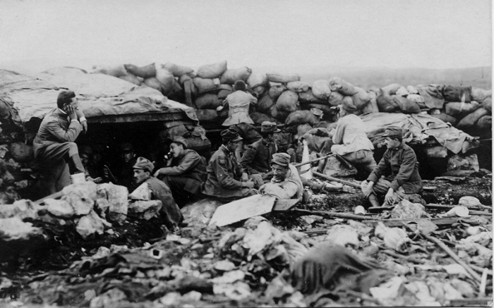 7.8bbb The Italians have been attacking along the Isonzo line