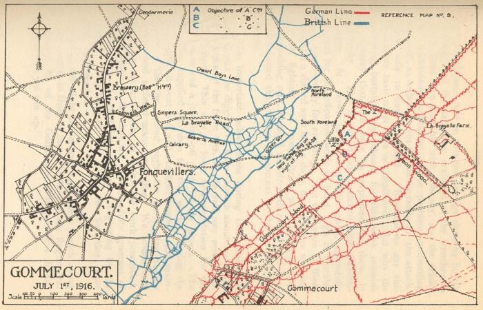 9.8aa gommecourt-map-1916