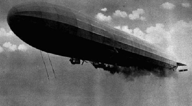 9.8b Zeppelin Bombs that dropped in the County