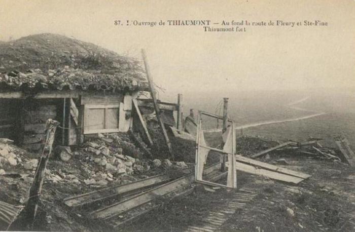DOUAUMONT-THIAUMONT 1916 VERDUN