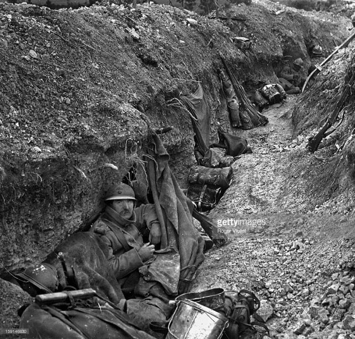 27.3. Battle of Verdun French trench