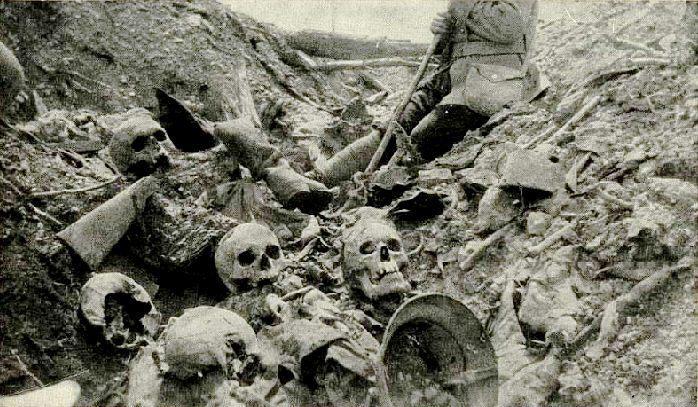 27.3. Trench Excavation Near Fort Douaumont, Verdun Battlefield