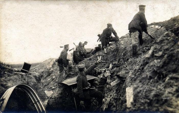 27.3. gernam trench