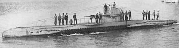 4.3. UB II type submarine