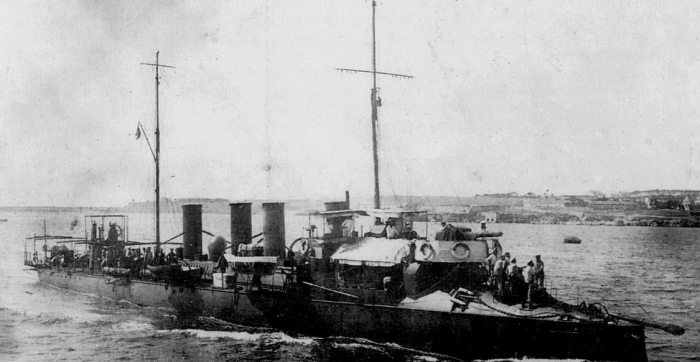 9.3. torpédoborec Puschkin