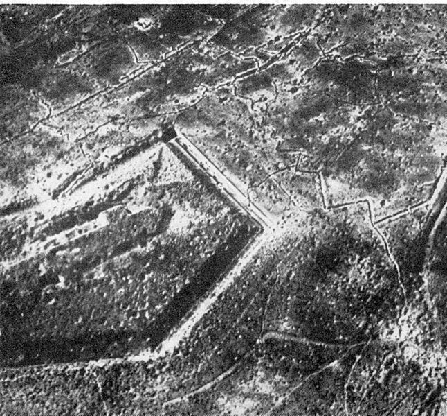 21.2. Douaumont pevnost po bitvě
