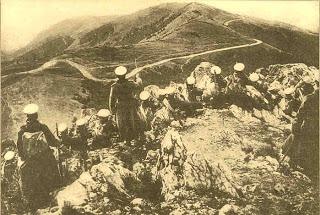 18.9 Bulgarian troops on Kajmakcalan 1916