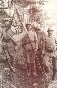 18.9 Serbian Soldiers on Kajmakcalan 1916