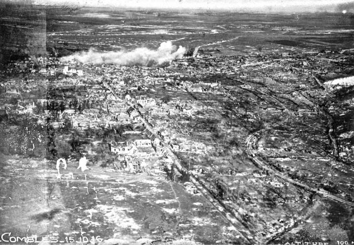 20.9a Bataille de la Somme  Combles