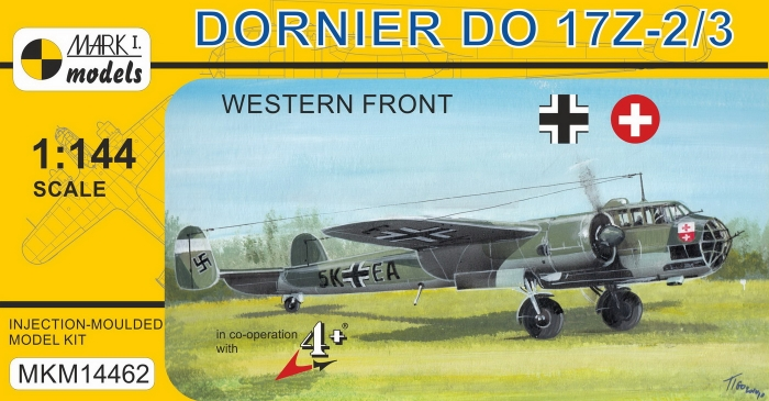 MKM14462 Do 17Z-2--3 Western Front_box
