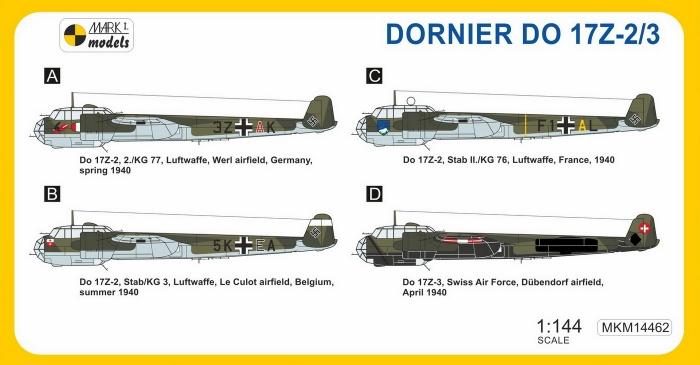 MKM14462 Do 17Z-2--3 Western Front_camo