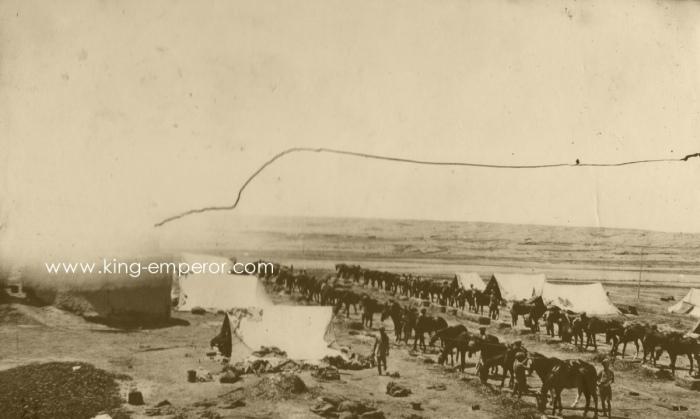 12th Cavalry-1-2 Sqn Camp in Jabal Hamrin-ke